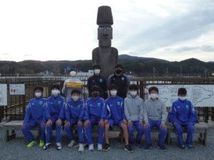 """【コバルトーレ女川ジュニアユースU-15】が""""さんさん商店街""""を訪問してくれました!"""