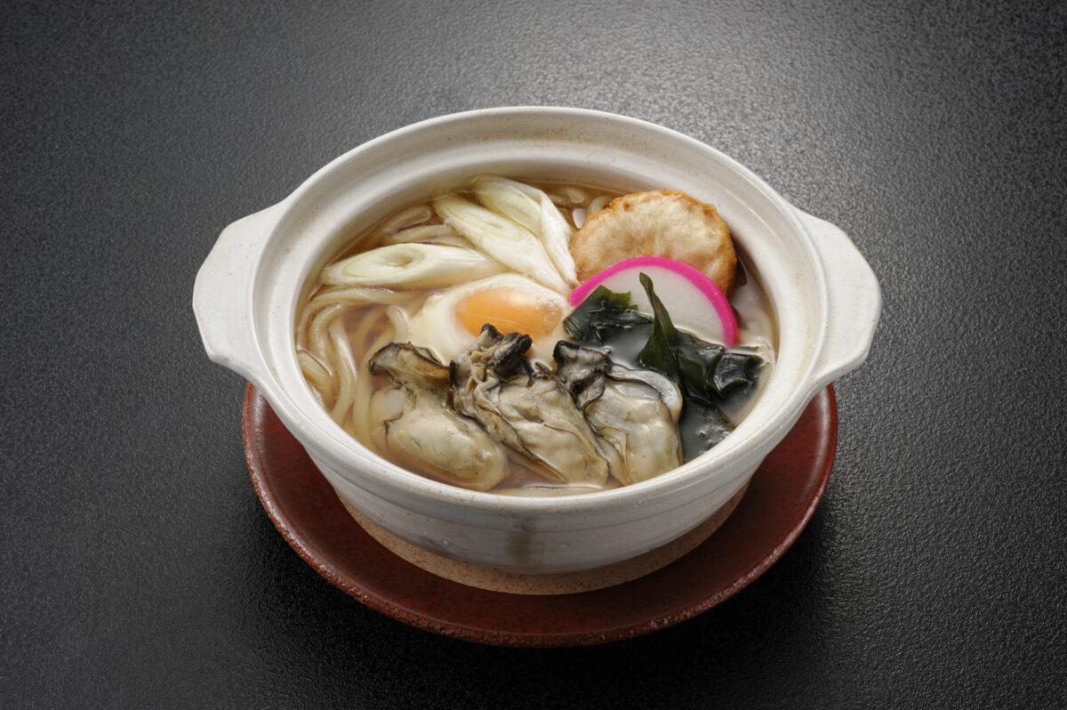 """創菜旬魚 はしもとの""""ほっこりこたつフェア""""メニュー『カキ鍋焼きうどん』!"""