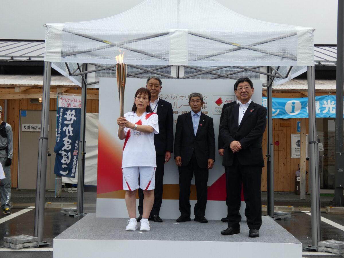 さんさん商店街にて『東京2020オリンピック聖火リレー』ミニセレブレーションが行われました!